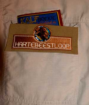 Hartebeestloop Calf Book fits in any pocket!