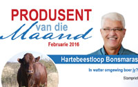 Hartebeestloop is the Meatco Producer of the Month February 2016