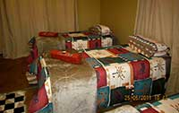 Guets rooms at Okongona guest farm.