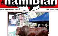 The Namibian: A whole lotta Bull!